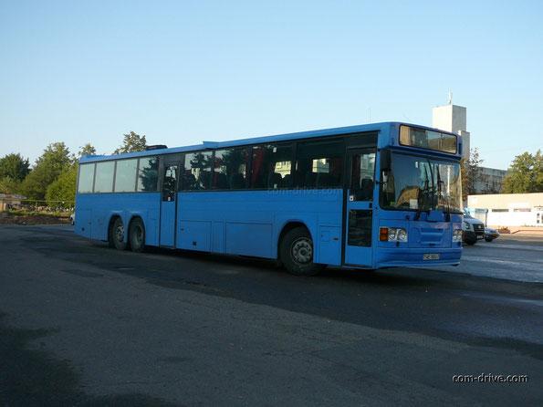 Пригородно-междугородный автобус Saffle system 2000 на шасси Volvo B10M-70B. Минск. 12.08.2008