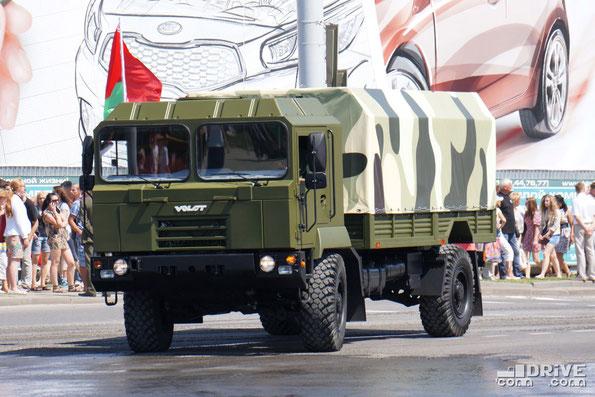 Специальное шасси МЗКТ-5002. Минск. 03/07/2013