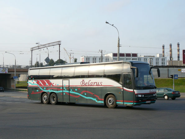 Туристический автобус Carrus Star 602 на шасси Volvo B12. Минск. 12/09/2009