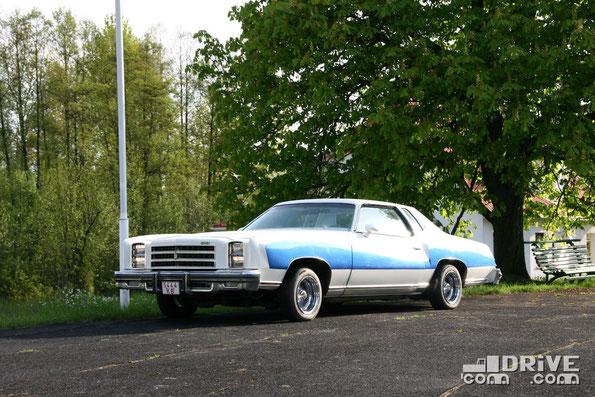 Chevrolet Monte Carlo. Двигатель объемом 6,6 литра