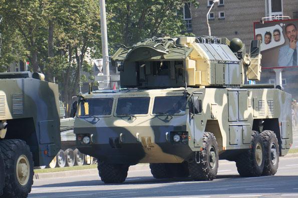 9А331МК ЗРК «Тор-М2К» на базе МЗКТ-6922