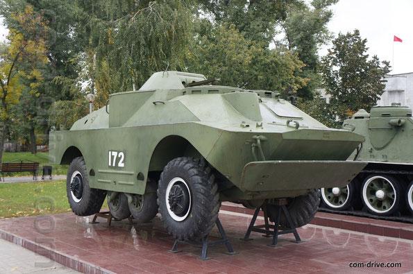 Боевая разведывательно-дозорная машина БРДМ-2