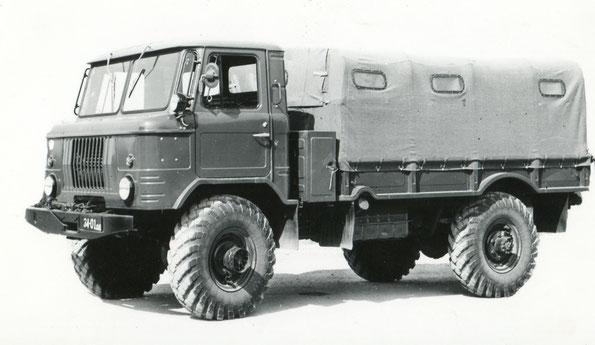 Грузовой автомобиль ГАЗ 66-11. Фото архивное