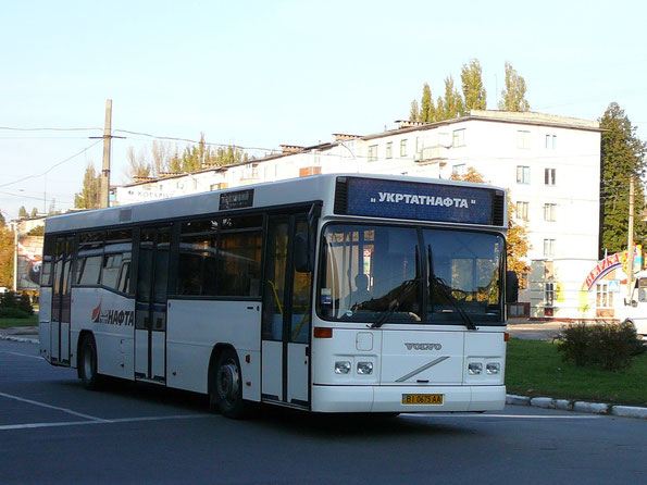 Carrus K204 City L на шасси Volvo. Кременчуг. 19.10.2008