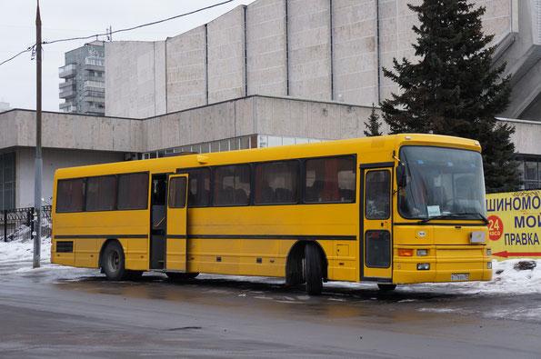 Междугородный автобус DAB Silkeborg 1350L. Москва. 01/04/2012