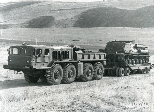 Балластный тягач КЗКТ-545А. Фото архивное