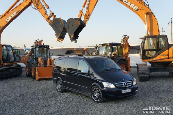 Mercedes-Benz Viano 3.0 CDI AVANTGARDE/L (typ 639/2). Ростов-на-Дону. 24/07/2012