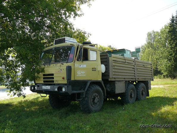 Бортовой грузовик TATRA T815-2 V2 6х6.1 в армейском исполнении. Жодино. 14.08.2007