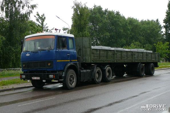Седельный тягач МАЗ-6422. Минск.15.06.2009