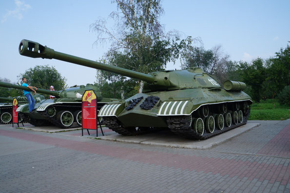 Тяжелый танк ИС-3. Фото Анны Завьяловой