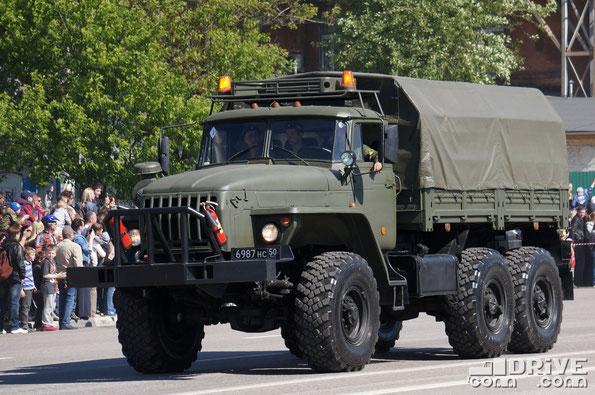 Легкий колесный эвакуационный транспортер КТ-ЛМ на шасси Урал-4320-31