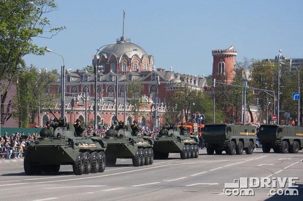 Папрад посвященный Дню Победы. Москва. 09/05/2014