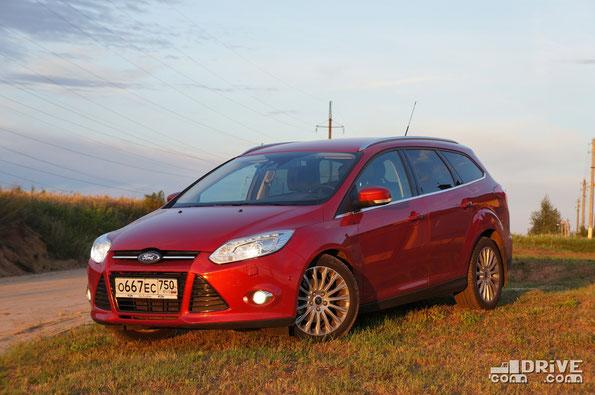 """Производитель: ЗАО """"Форд Мотр Компани"""". (г.Всеволжск). Модель: Ford Focus Wagon 2.0 (LXXEEB), комплектация Titanium. Автомобиль на тест предоставлен ООО """"Форд Соллерс Холдинг"""""""