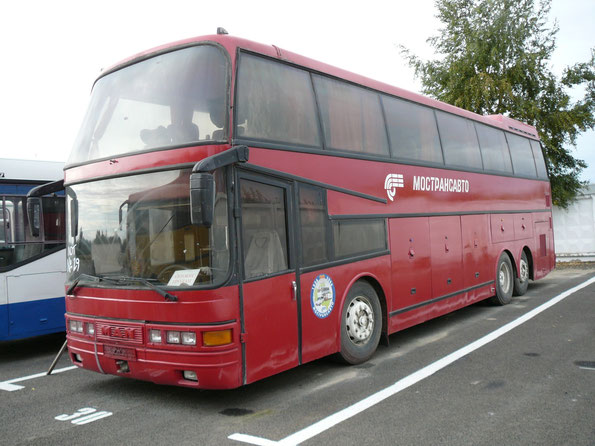 Туристический автобус Dorteller Kral на шасси MAN 22.372 SHD. Коломна. 23.09.2009