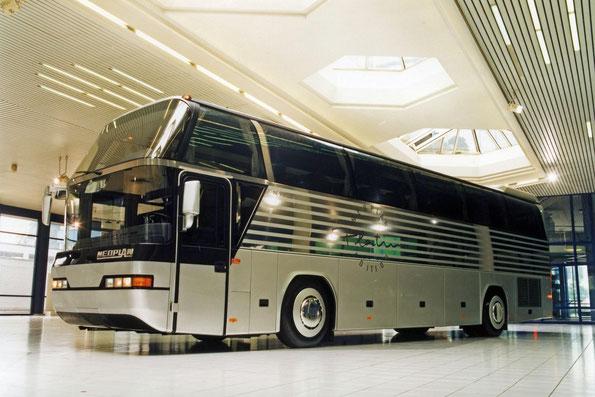 Neoplan Cityliner N116 Platin. 1995 года выпуска. Фото фирменное