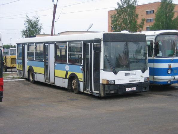 Городской автобус большого класса Ikarus 415. АП-7, Минск.12.06.2006