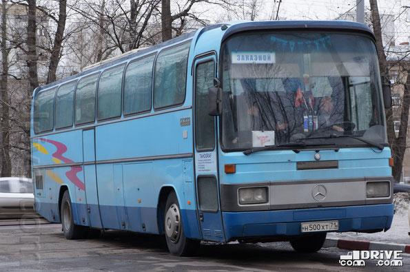 Туристический автобус MB O303-15RHD АКА «Витязь». Москва. 08/04/2012