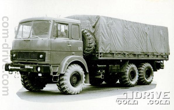 МИНСКИЙ АВТОМОБИЛЬНЫЙ ЗАВОД. МАЗ-6317 - автомобиль многоцелевого назначения типа 6х6. Количество модификаций: 1