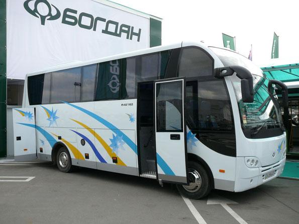 Туристический автобус малого класса Богдан А401.62. Интеравто-2008