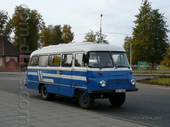 Автобус Robur LO 3000 FR. Орша. 26/09/2007