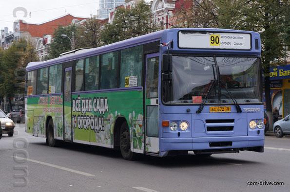 Автобус Saffle system 2000 - SSBC на шасси Volvo B10M-65. Воронеж. 04/10/2013