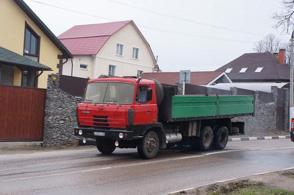 Бортовой грузовик TATRA T815-2 V28 6Х6.2. Долгопрудный. 30/04/2013