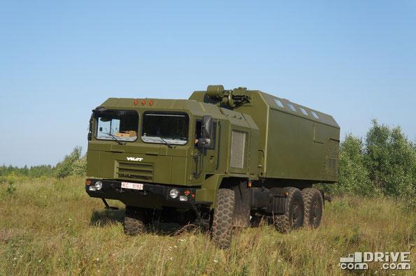Командно-штабная машина на шасси МЗКТ 600100. 24/07/2014