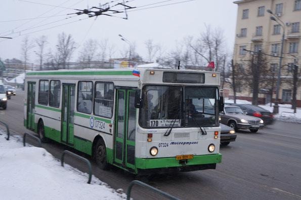 Городской автобус большого класса ЯАЗ-5267. Москва. 23.02.2012