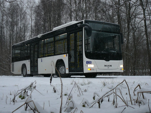 Городской 12-метровый автобус MAN Lion's City A78 EL283.