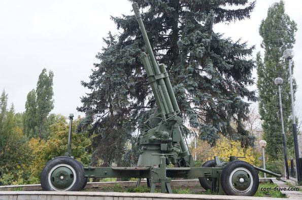 Зенитная 85-миллиметровая пушка 52-К