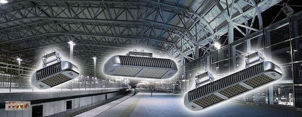 Luminarios LED Praha para areas comerciales e industriales