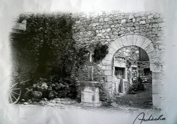 L'entrée de l'Oume.