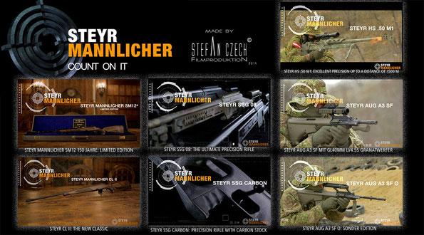 STEYR Mannlicher 2014 made by Stefan Czech Filmproduktion