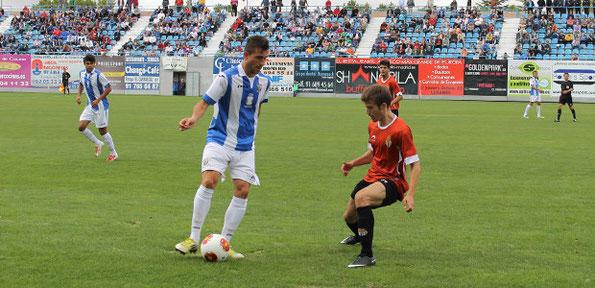 El Leganés consiguió una clara victoria en la última jornada al derrotar por 3-1 a la Peña Sport. Foto: www.deportivoleganes.com