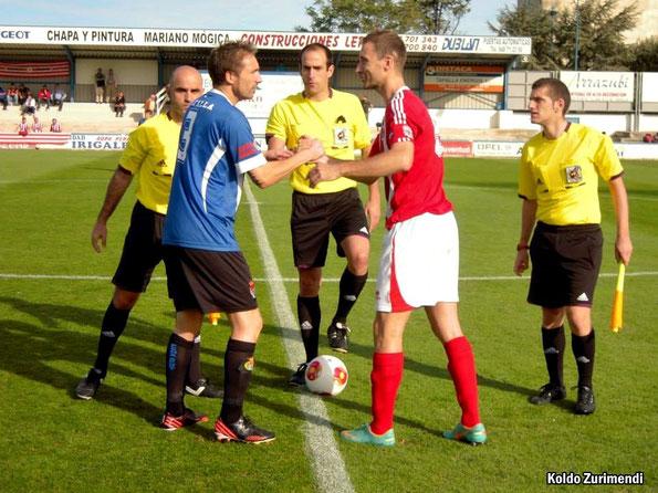 En el encuentro de la primera vuelta el Laudio venció por 0-2 en San Francisco gracias a los goles de Lambarri y Joseba del Olmo.