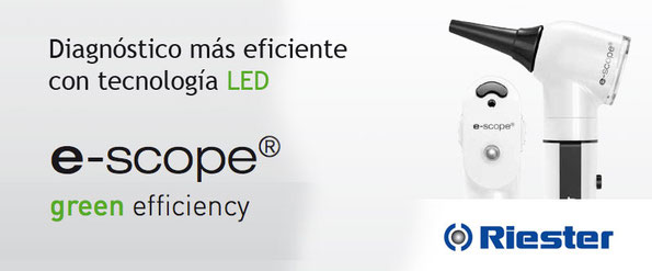 Equipo de organos diagnóstico luz LED Riester Bioservicios S.A.S Medellin