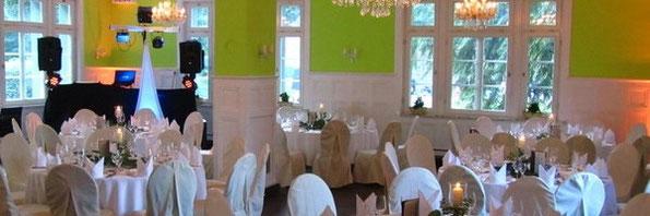 Hochzeit in der Kaskadenwirtschaft im Bergpark Willhelmshöhe