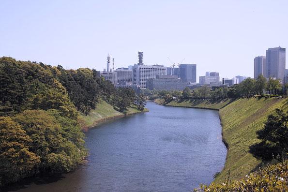皇居外苑 桜田濠