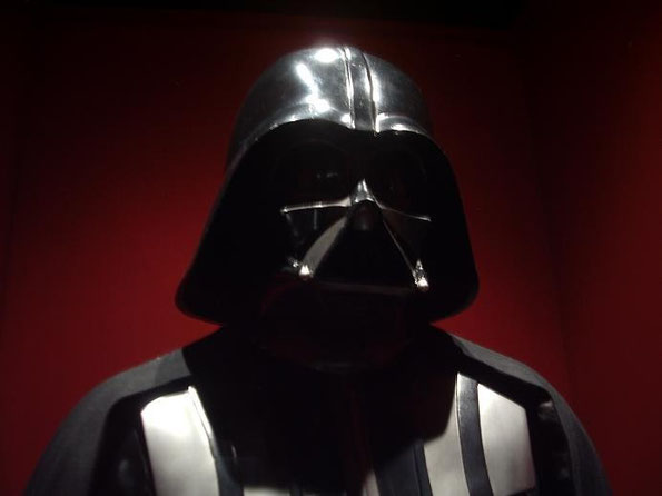 Darth Vader, en Stars Wars, The Exhibition, Madrid 2009