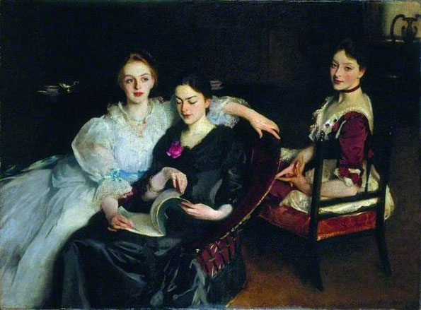 'The Misses Vickers', de J. S. Sargent