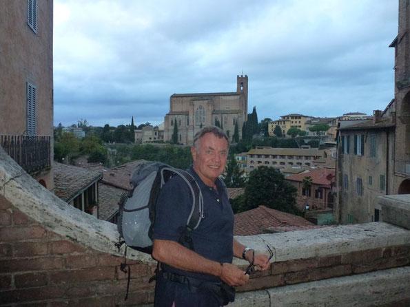 Bild: Blick über Siena