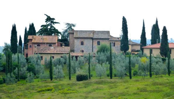 Bild: Landschaft Toskana
