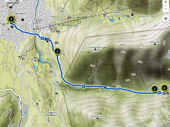 Bild: Wanderung Oytal nach Oberstdorf