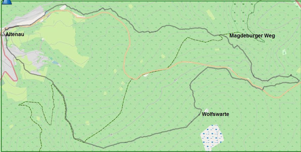 Bild: Wanderung Altenau - Wolfswarte
