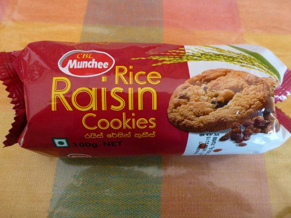 Bild: Rice Raisin Cookies