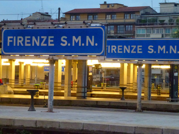 Bild: Bahnhof von Florenz