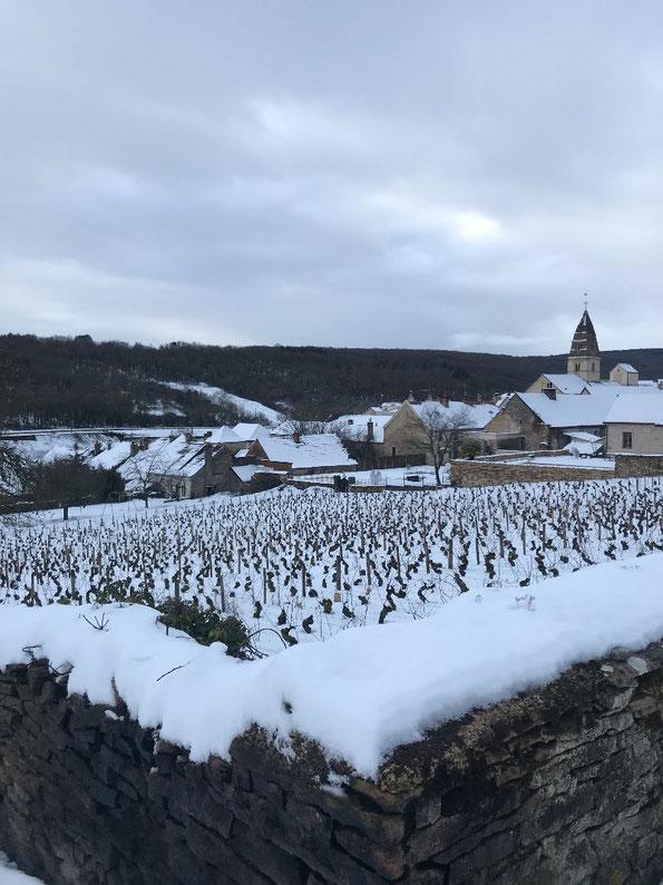 Saint-Aubin; Janvier 2021