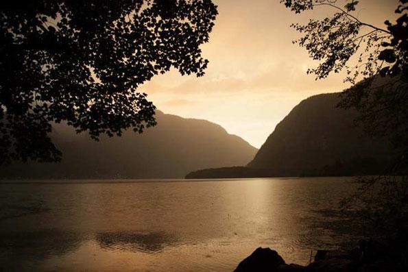 Bild: Hallstatt lakeside