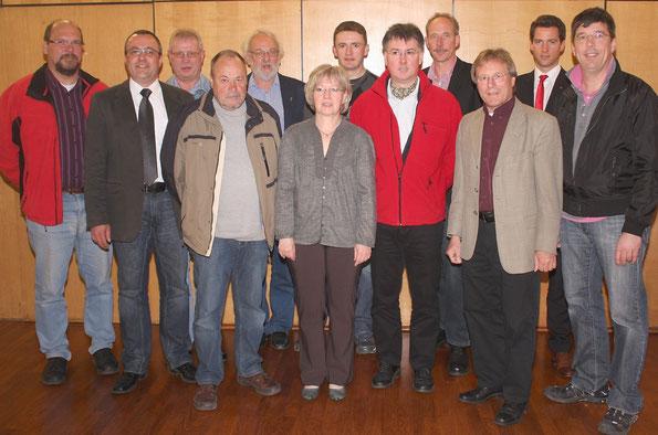 Die neue Neuentaler SPD-Fraktion
