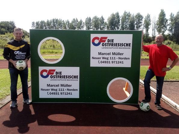 Marcel Müller (l.) und Hans-Dieter Klaaßen (r.)